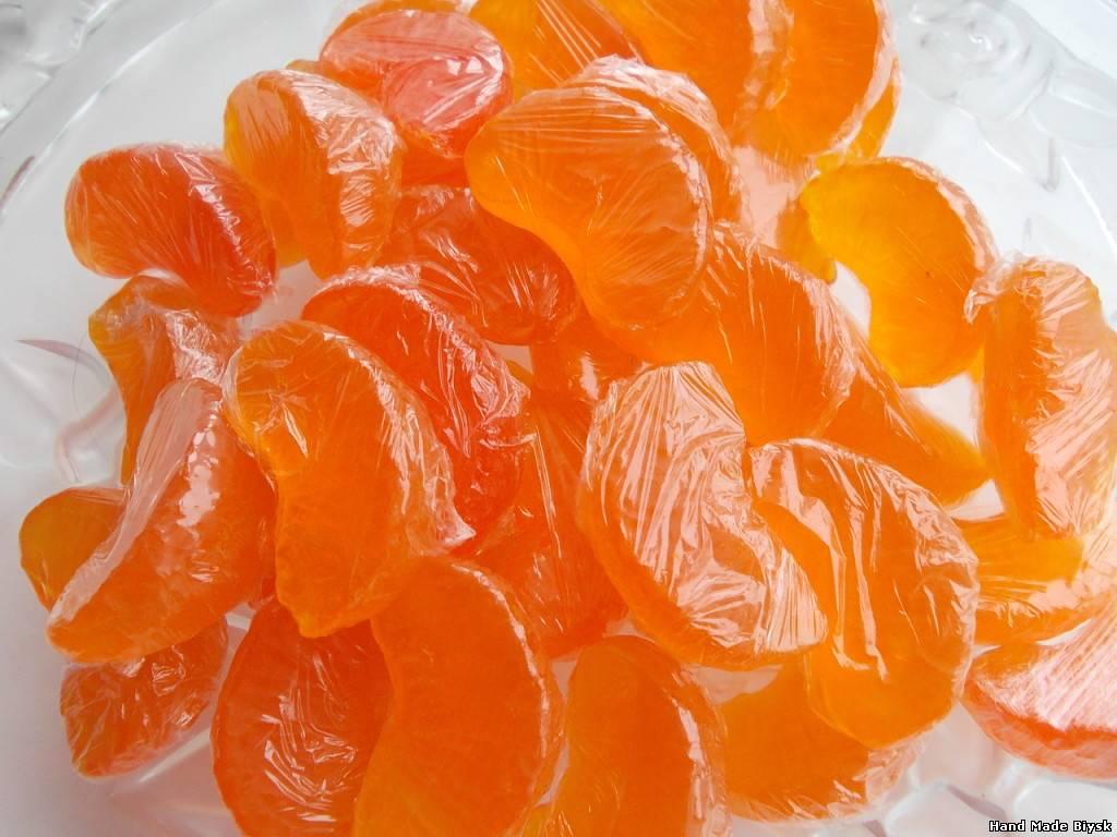 Как сделать из мандариновых корок цукаты