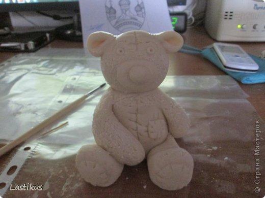 Поделки медведей из соленого теста